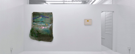 """Two Weeks/Two Works: Jessica Jackson Hutchins"" Exhibition view, photo courtesy Fourteen30 Contemporary"